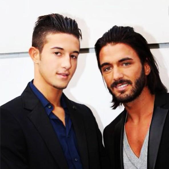 Tarek Benattia et celui qu'il considère comme un frère, Thoma Vergara !