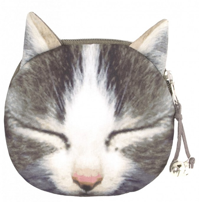 Porte-monnaie chat, Bershka 9€