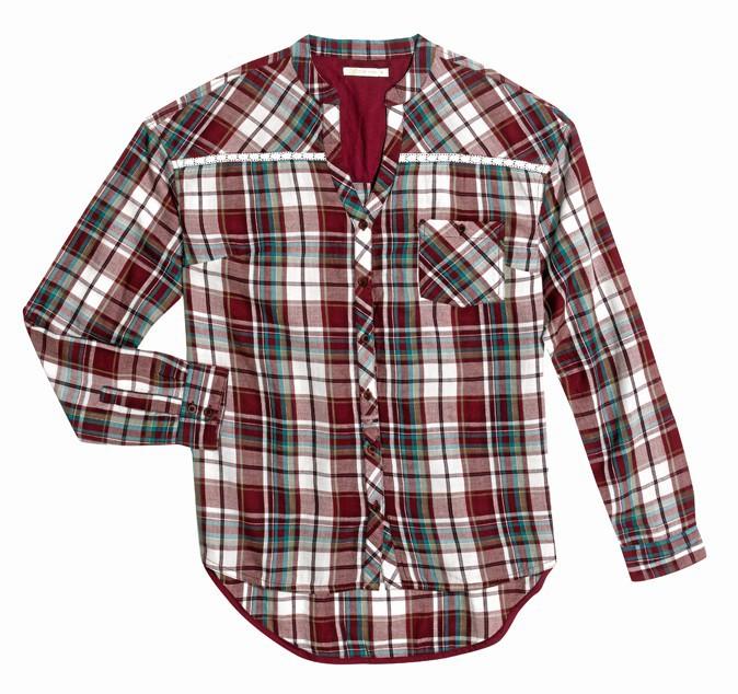 À garder : la chemise à carreaux !