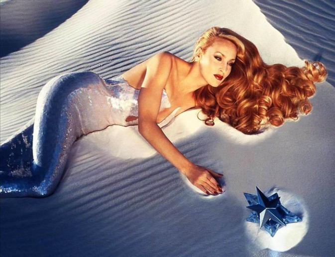 Jerry Hall pour Thierry Mugler