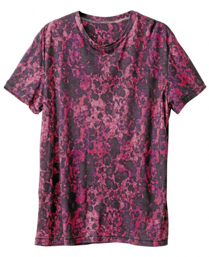 T-shirt en coton imprimé, H&M 19€