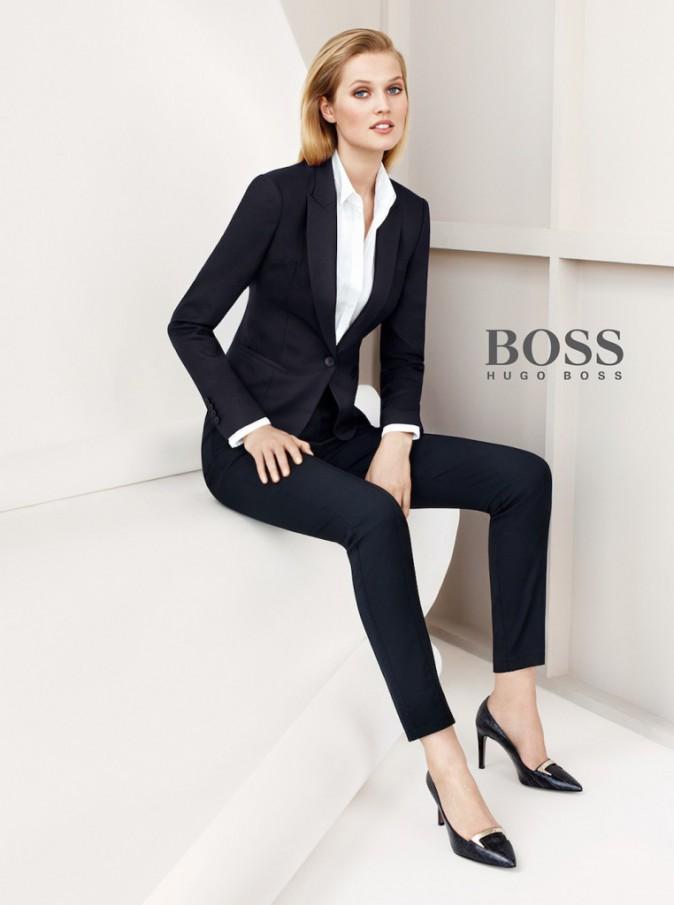 Toni Garrn, la girlfriend de Leonardo DiCaprio, sublime pour Hugo Boss !