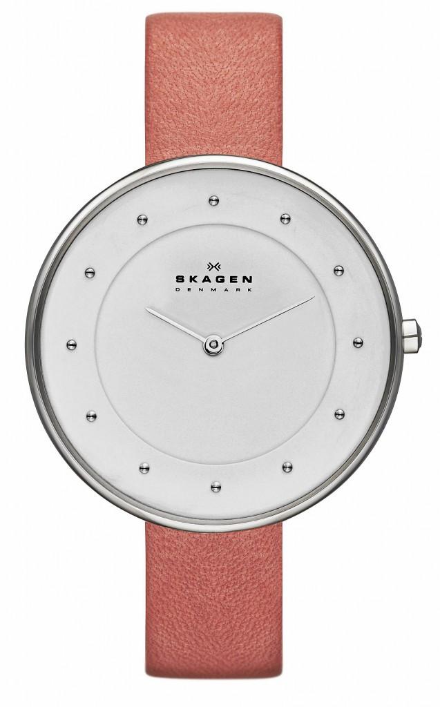 Bracelet en cuir, Skagen, 119€