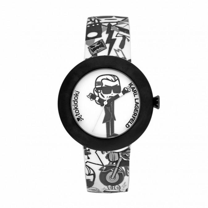 Bracelet imprimé, Karl Lagerfeld, 199€