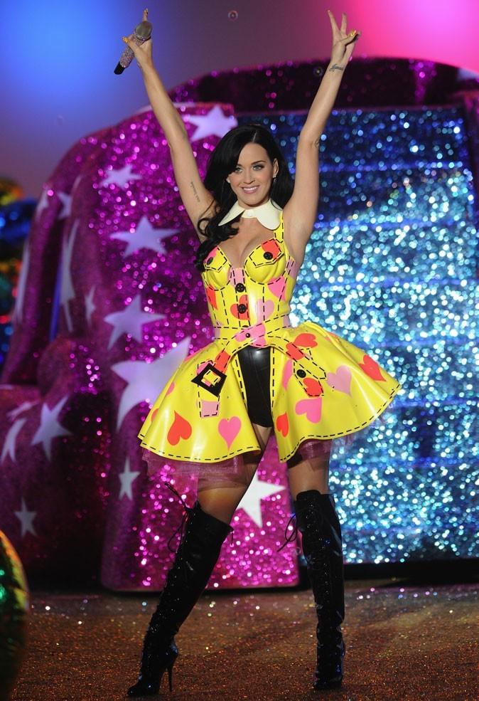 Le corset de Katy Perry au défilé Victoria's Secret !