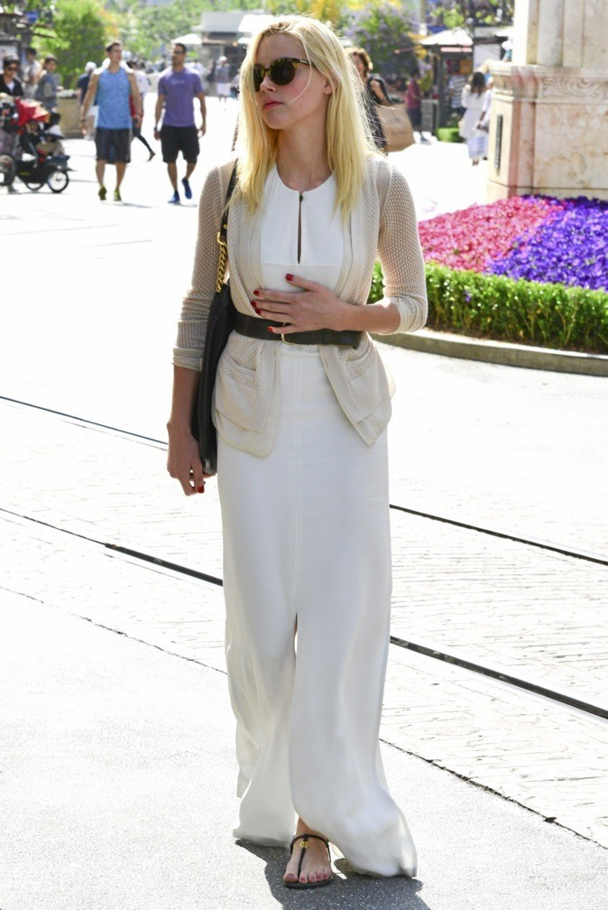 Amber Heard : blanc immaculé !