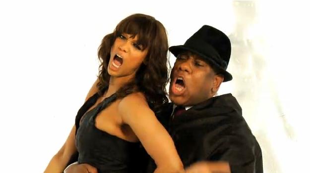 Tyra Banks et Andre Leon Talley en plein délire !