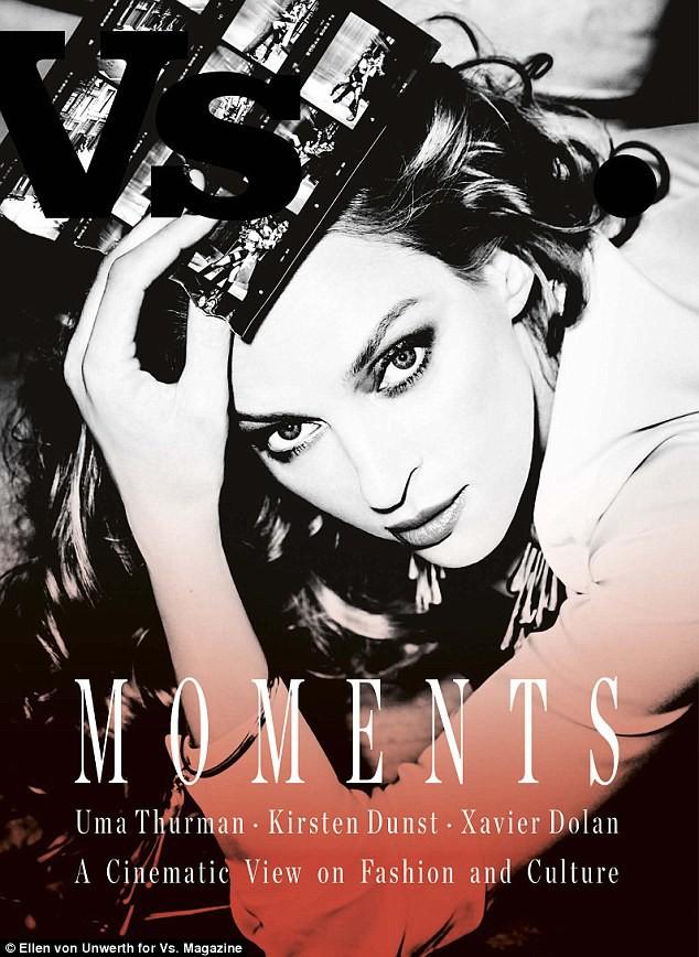 Uma Thurman pour VS Magazine