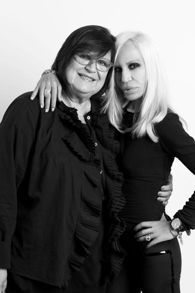 Donatella Versace et Margareta van den Bosch, Conseillère Créative chez H&M.