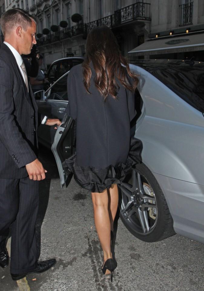 Victoria Beckham à Londres le 16 septembre 2014