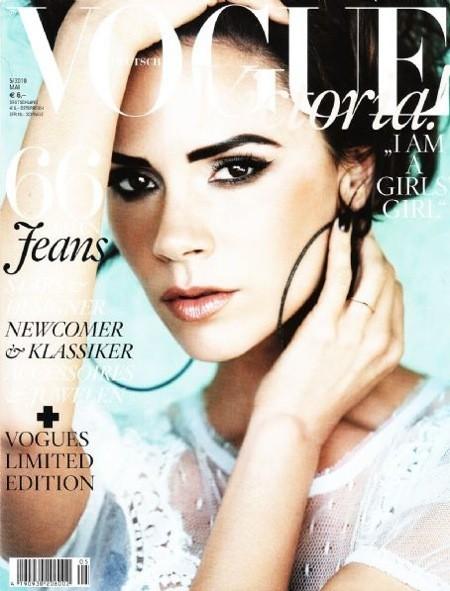 Victoria Beckham pour Vogue !