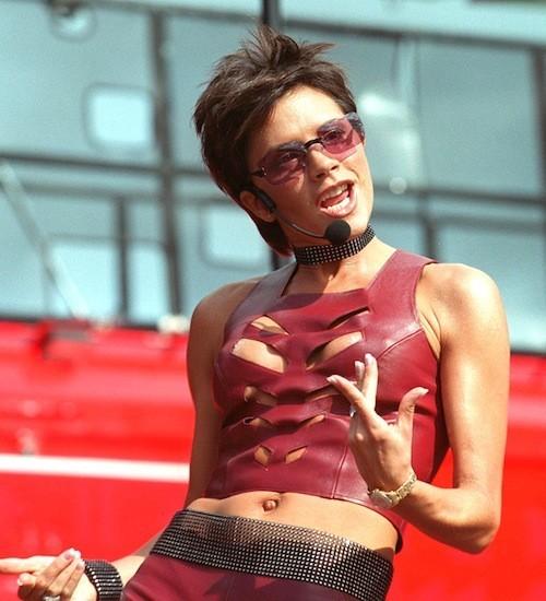 Victoria Beckham, en 2000