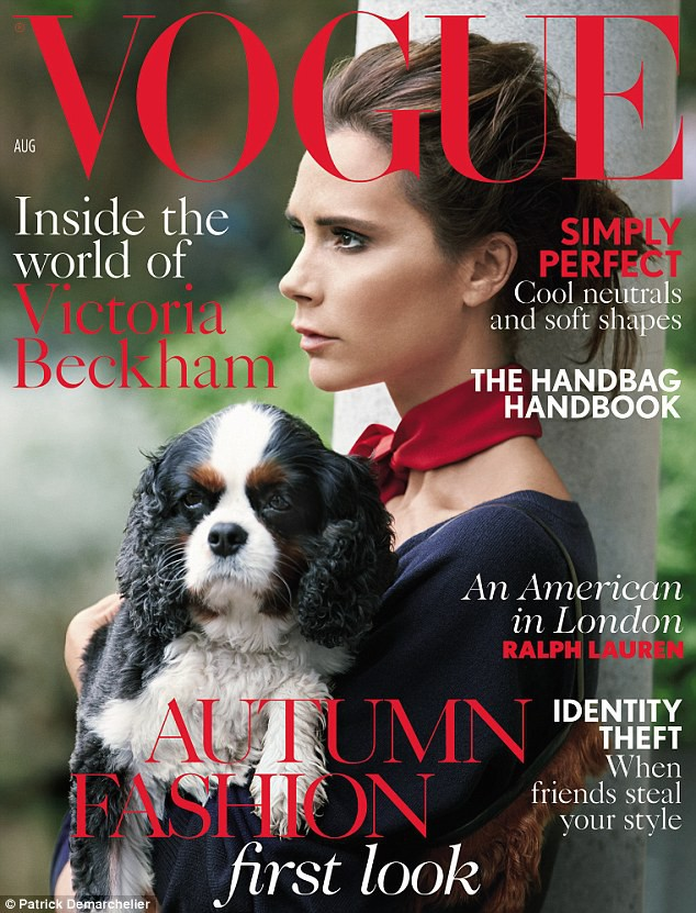 Mode : Victoria Beckham s'offre une double couverture pour Vogue UK !