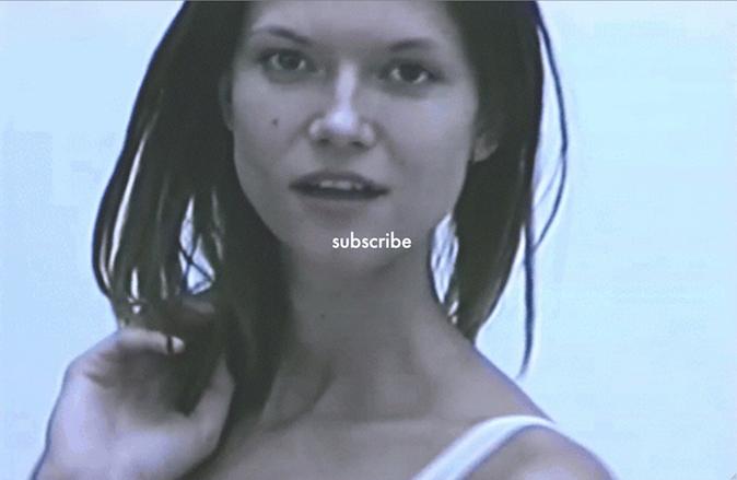 Kasia Struss pour Victoriabeckham.com