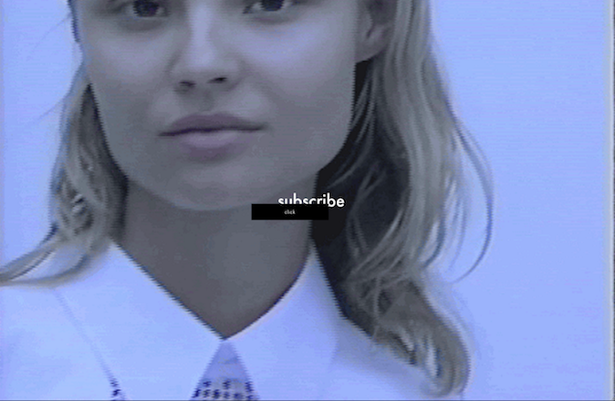 Magdalena Frackowiak pour Victoriabeckham.com