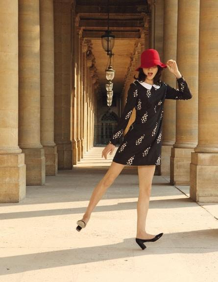"""La robe imprimée """"bouquets de marguerite"""" de Mademoiselle Tara !"""
