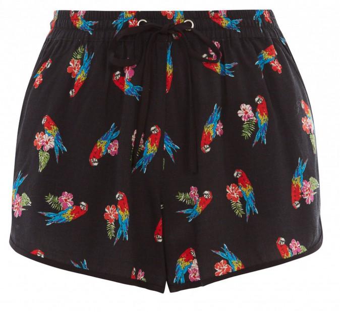 Short imprimé perroquets, New Look 14 €
