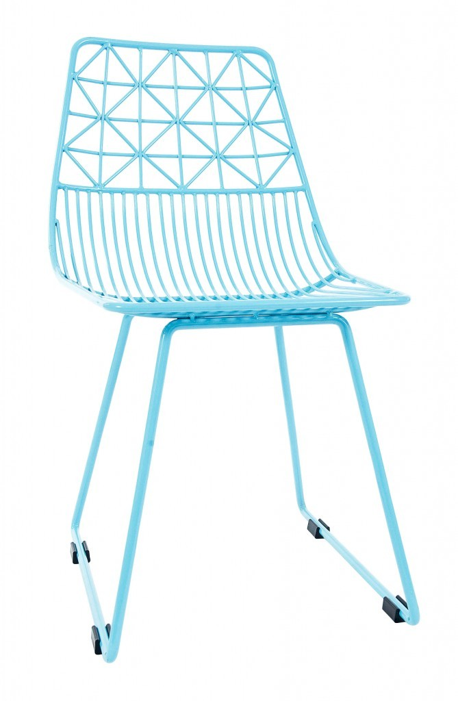 Chaise en métal laqué, Sebra 99,90 €