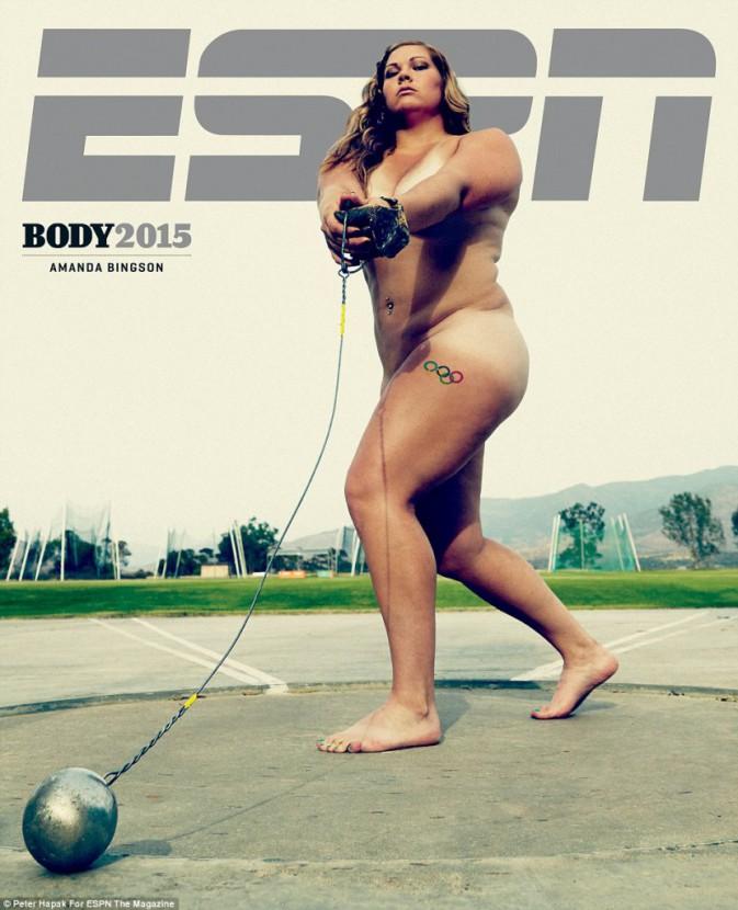 Amanda Bingson pour ESPN magazine