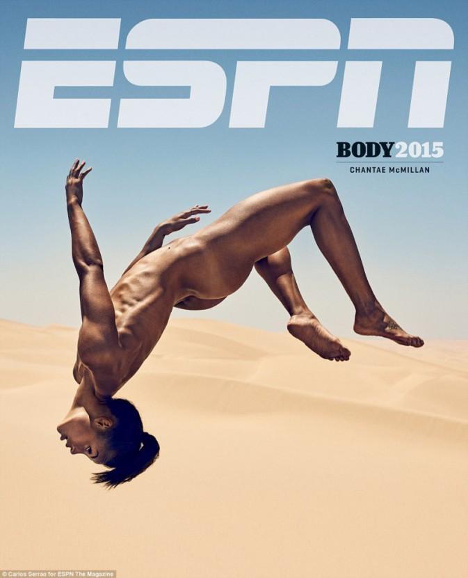 Chantae McMillan pour ESPN magazine