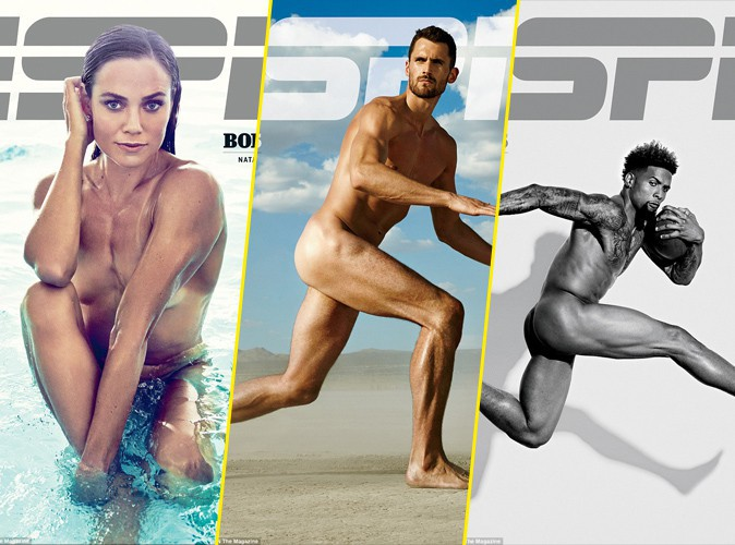 Photos : Natalie Coughlin, Kevin Love, Odell Beckham Jr.... ESPN Magazine déshabille les sportifs !