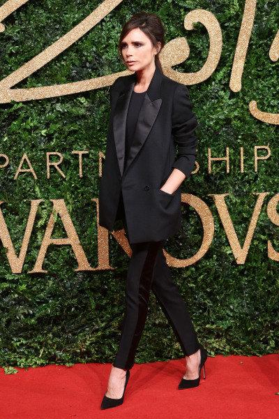 La pose de Victoria Beckham