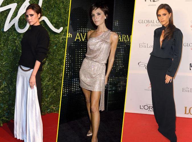 Victoria Beckham fait toujours la même pose