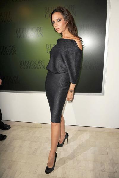 Victoria Beckham, toujours la même pose