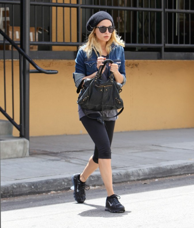 Nicole Richie, sportive comme toujours !