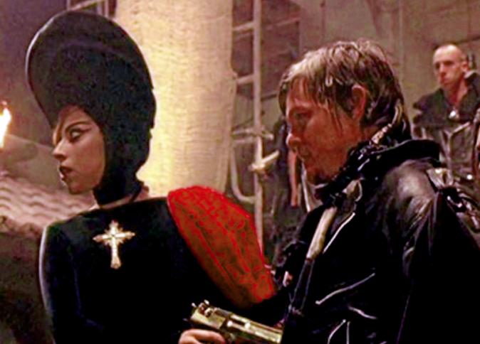 Norman Reedus dans Judas de Lady Gaga