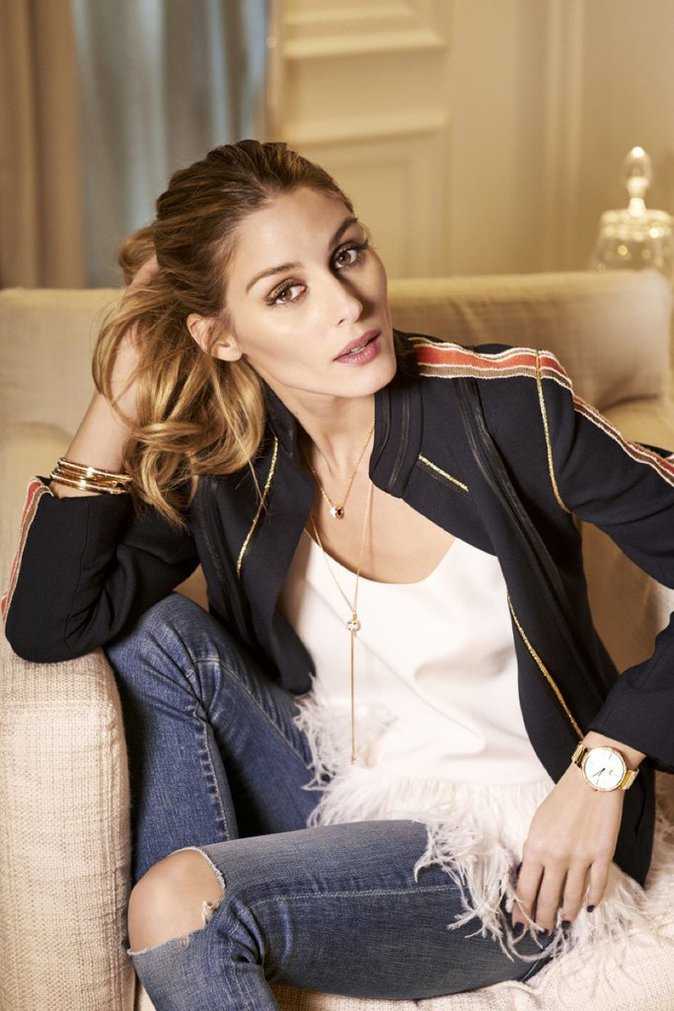 Olivia Palermo : le summum du chic pour la nouvelle collection Piaget !