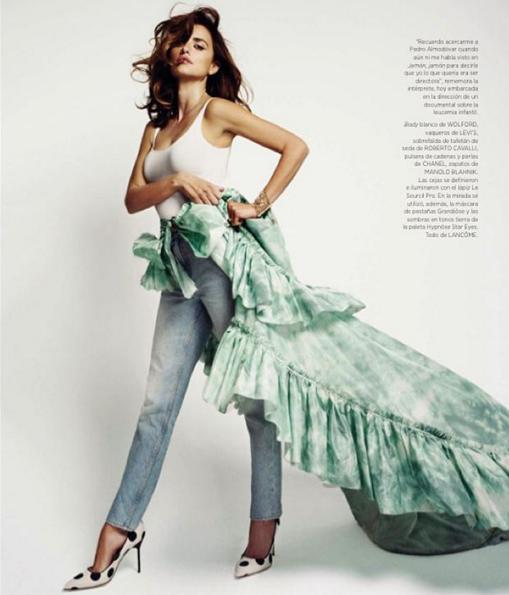 Penélope Cruz pour Harper's Bazaar Espagne