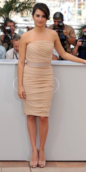 La robe bustier version Penélope Cruz
