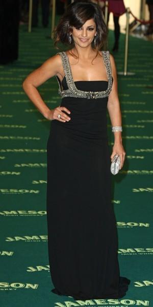 La robe longue noire version Monica Cruz
