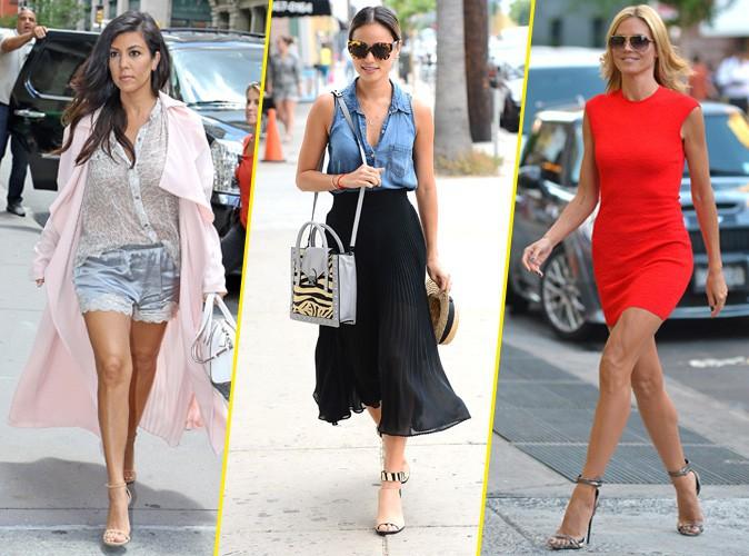 Photo : Palme Fashion : Kourtney Kardashian, Jamie Chung, Heidi Klum … Qui a été la plus stylée de la semaine ?