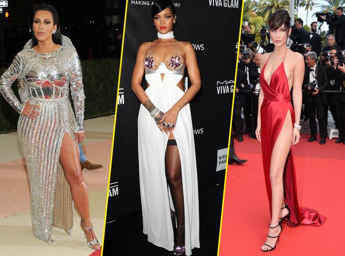 Photos : 32 robes fendues déjà iconiques !
