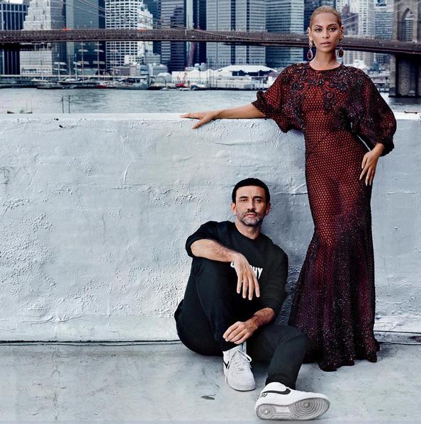 Beyoncé, cover girl historique de Vogue US accompagnée de Riccardo Tisci