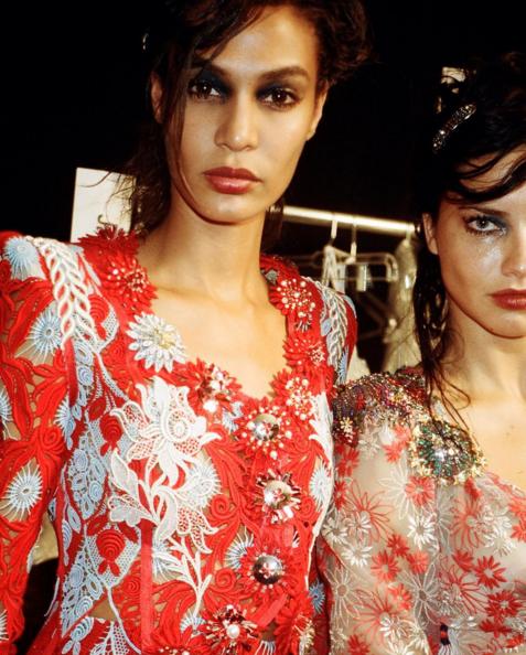 Adriana Lima et Joan Smalls pour Marc Jacobs
