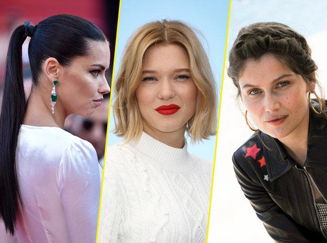 Photos : Adriana Lima, Léa Seydoux, Laetitia Casta ... Retour sur les belles coiffures coiffures du Festival de Cannes 2016