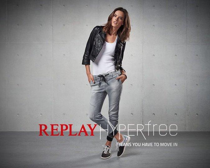 Neymar et Alessandra Ambrosio pour la nouvelle campagne Replay