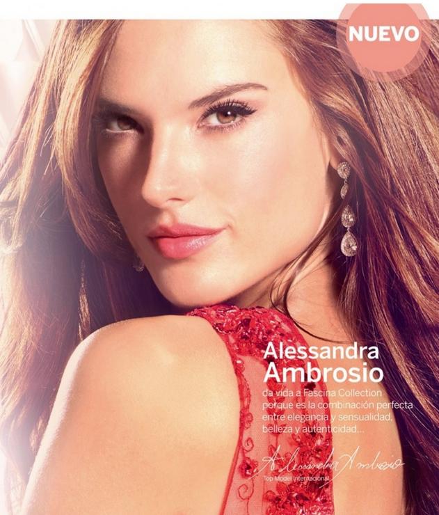 Photos : Alessandra Ambrosio : plus glamour que jamais pour Ésika !