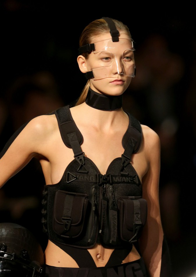 Karlie Kloss au défilé Alexander Wang