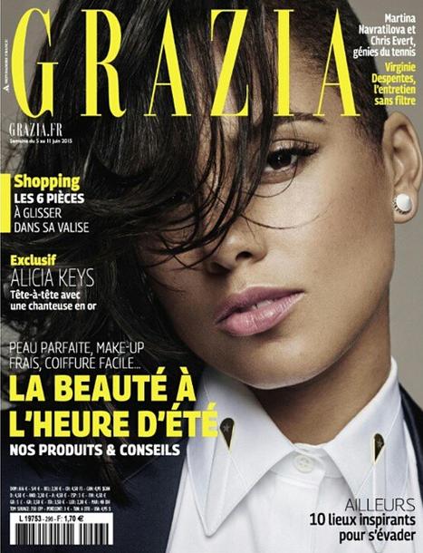 Alicia Keys covergilrl du prochain Grazia France
