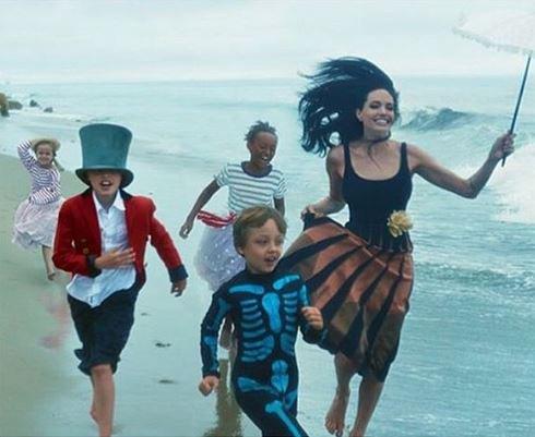 Angelina Jolie et sa famille pour Vogue US !