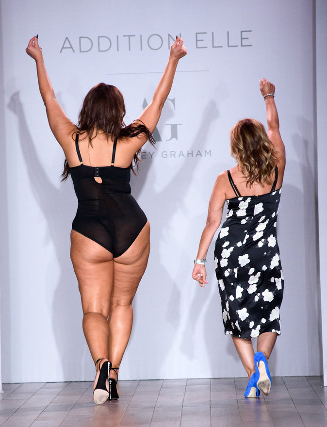 Ashley Graham à New York le 14 septembre 2016