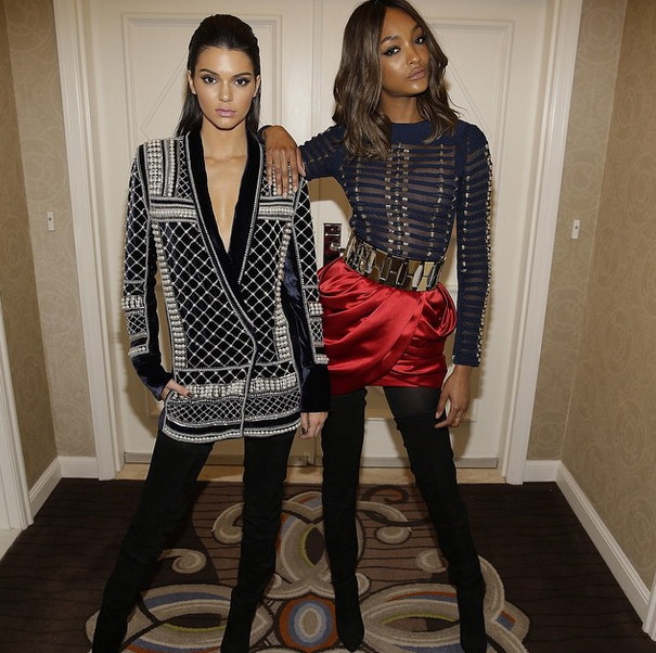 Kendall Jenner et Jourdan Dunn