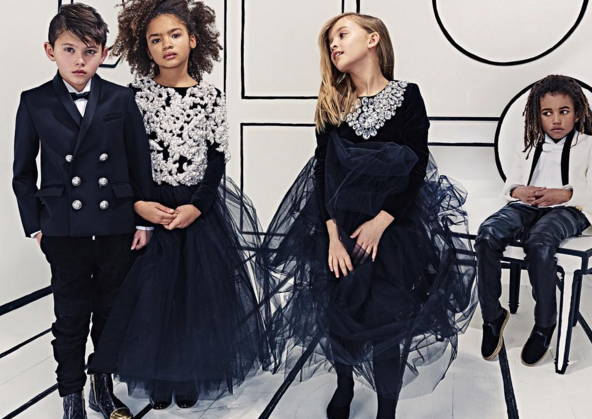 Balmain Paris collection enfant