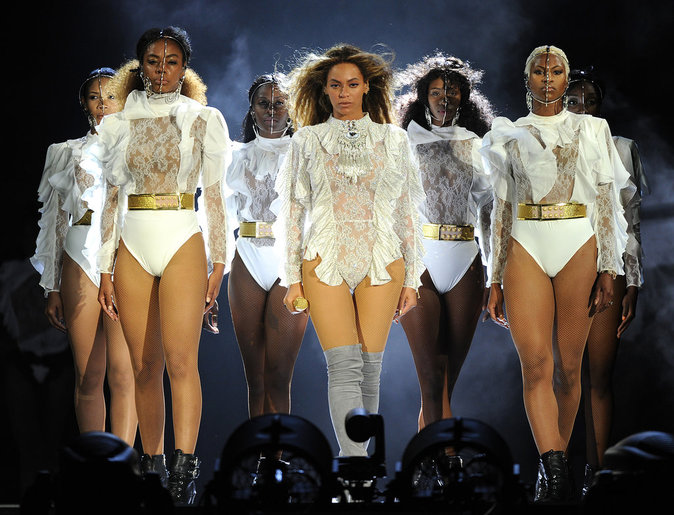 """Beyoncé lors du premier concert de son """"Formation World Tour"""" à Miami"""