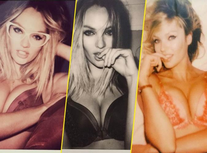Photos : Candice Swanepoel dévoile toute sa féminité sur photos Polaroïd pour Victoria's Secret !