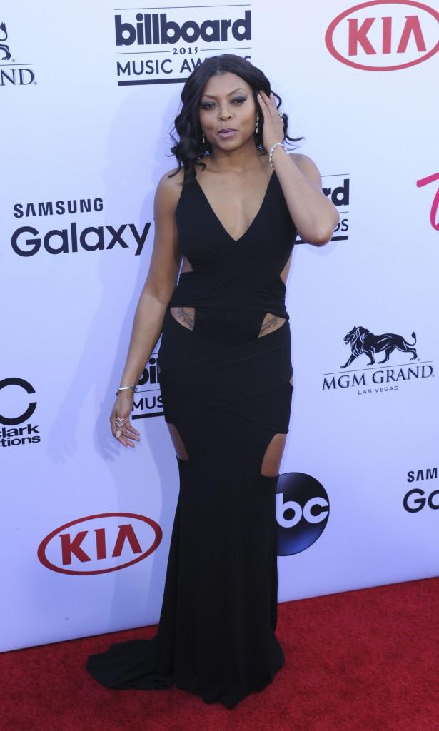 Taraji P. Henson en robe Alexander Vauthier, le 17 mai aux Billboard Music Awards 2015